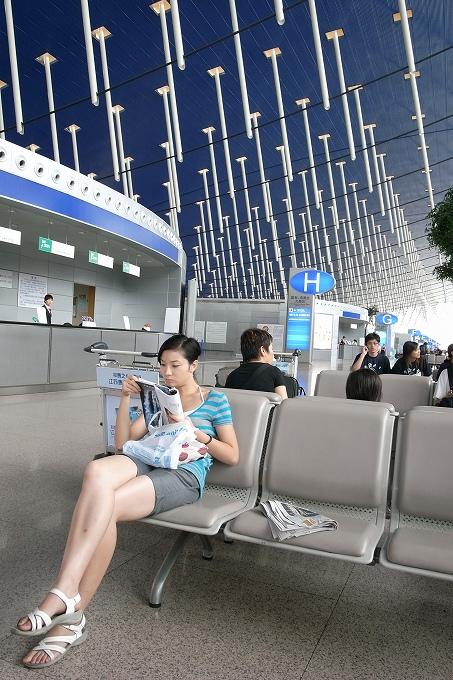 足の長い空港
