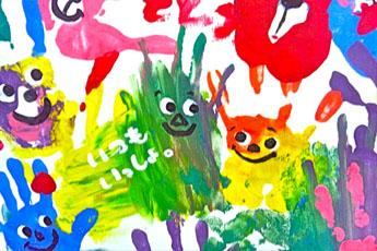 やっぱり楽しい!子供も大人もハマる♪『絵の具アート』アイデア集♪