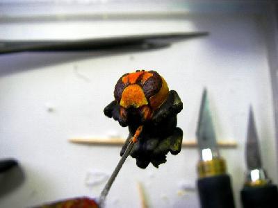 鬼の形相スズメバチ