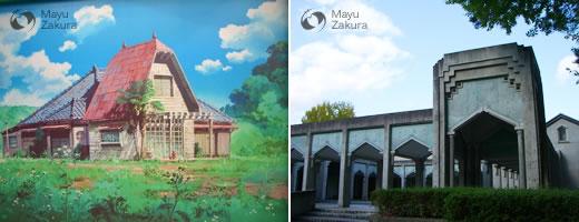 サツキとメイの家と平福記念美術館