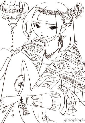 異国の女の子