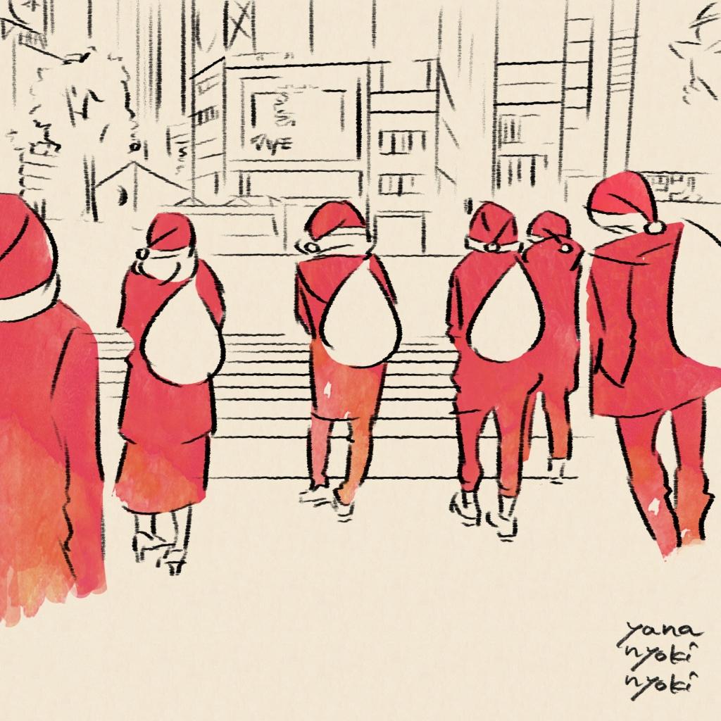 【クリスマス】交差点