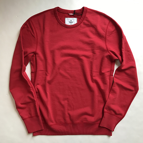 Reigning Champ crewneck red.jpg