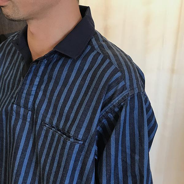 blue blue ライトテ?ニムラカ?ーシャツ5.jpg
