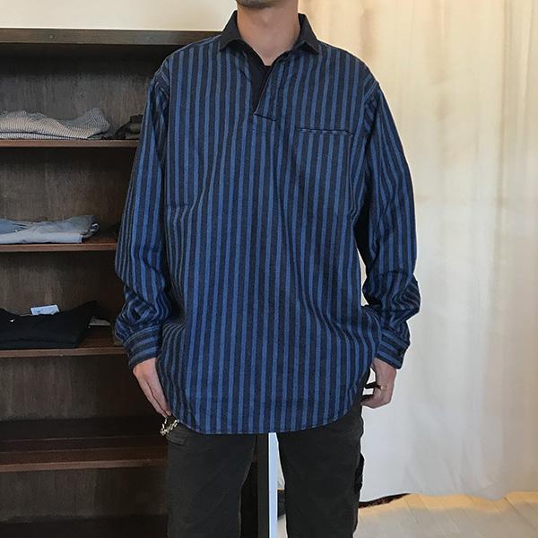 blue blue ライトテ?ニムラカ?ーシャツ3.jpg