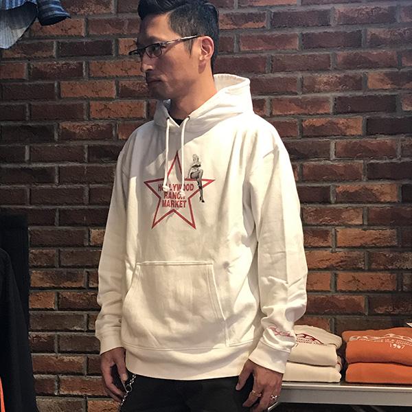 MARILYN MONROE HRM STAR SWEAT PARKA WHITE.jpg