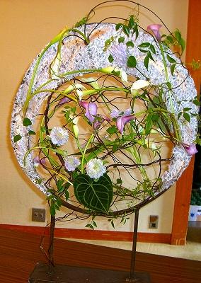 垣本温代(かきもとはるよ)先生のNFD内山錦吾賞受賞記念としてのデモンストレーション