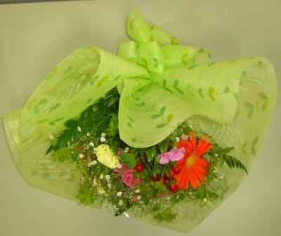モダン〜装飾的花束