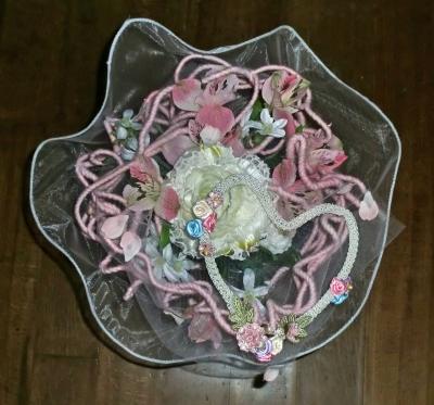 アーティフィシャル(造花)を使ったブーケ