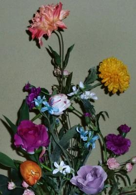 1級:絵のような(造花)