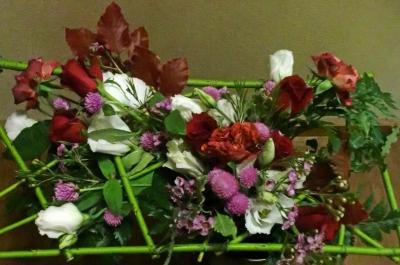1級:枠組みの花束