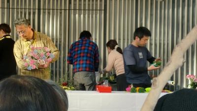 第10回愛媛県フラワーデザインコンテスト坊ちゃんカップへ行きました