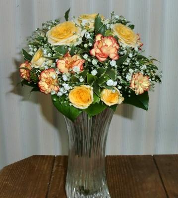 3級:丸い花束の花束(ブーケ)