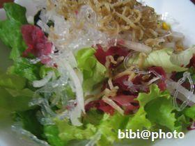 じゃこと海藻サラダ