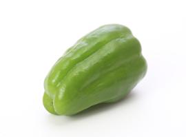 緑のピーマン