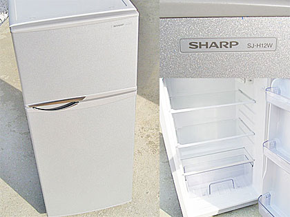 SHARP冷凍冷蔵庫SJ-H12W