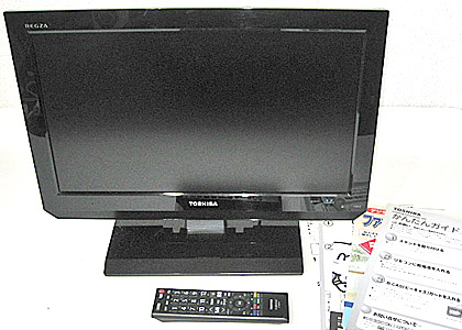 TOSHIBA-LED-REGZA-19V型-デジタルハイビジョン液晶テレビ