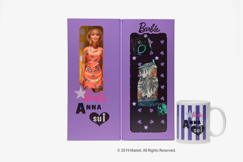 【5/13追加情報】アナ・スイと「バービー(Barbie™)」がコラボレーション