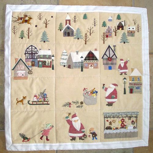 雪の村のクリスマス