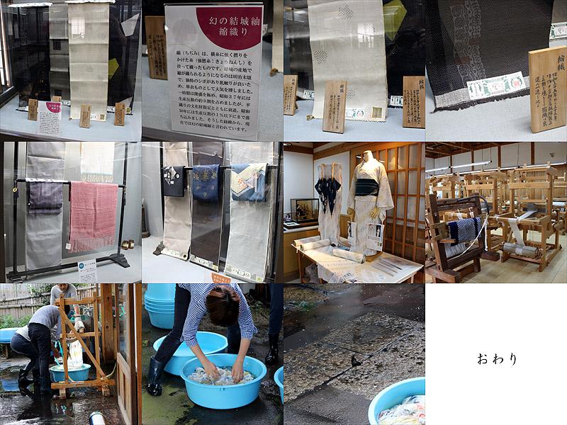 奥順さんでの結城博物館