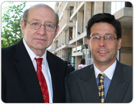 Photo Credit: World Bank (Bank authors, senior health economists George Schieber and Pablo Gottret)