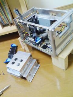 旧PCからHDD取り出し