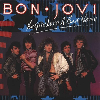 Bon Jovi - You Give Love A Bad Name の洋楽歌詞和訳・カタカナ情報まとめ