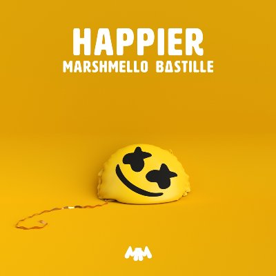 Marshmello ft. Bastille - Happier の洋楽歌詞和訳・カタカナ情報まとめ