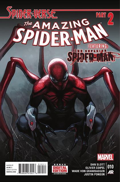 「スーペリア・スパイダーマン」 本編を読んだ方はご存知ですね、 身体はピーター・パーカーで、精神が「とあるヴィラン」というトンデモ設定キャラ。