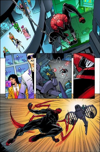 本編ではアメイジングスパイダーマンのピーター・パーカーと共に活躍し、お話を面白くしてくれました。 彼のスパイダーバースはどうのようにして始まったのか!