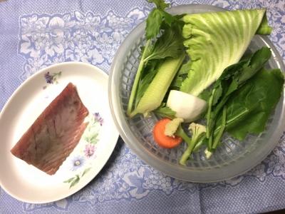 春カツオ☆材料