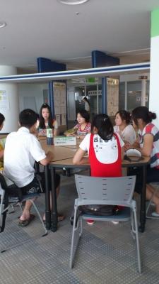 2011 夏休みボランティア体験
