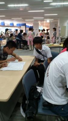 2011夏休みボランティア体験