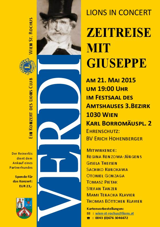 VERDI-Concert (LionsClub-Wien St.Rochus)