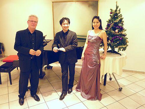 Sachiko KUROKAWA(Sopran)+Gaku SUGIBAYASHI(Klavier)+Gaeste: Martin LEHNFELD (Violine/Viola)