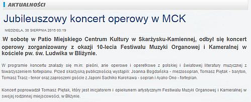 Konzertreise nach Polen