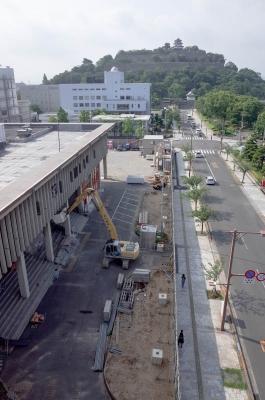丸亀市民会館解体工事