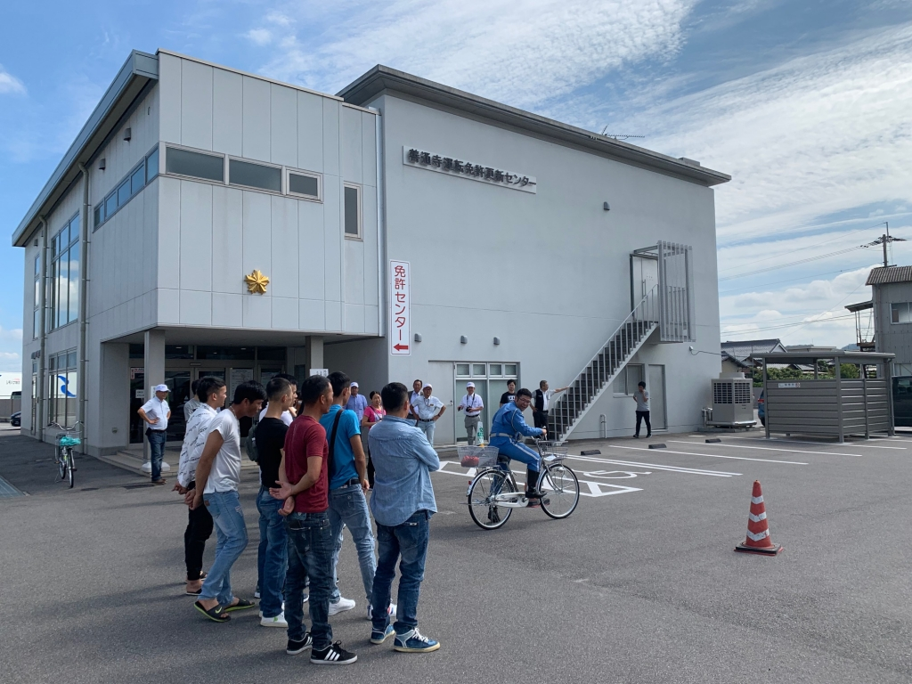 外国人のための交通安全教室