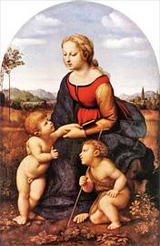 聖母子と聖ヨハネ