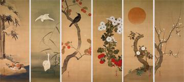 十二ヶ月花鳥図