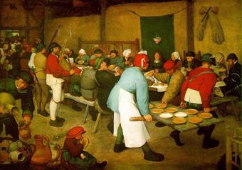 農民の婚宴