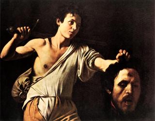 ゴリアテの首を持つダビデa
