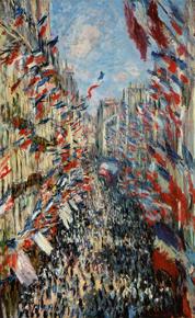 モントルグイユ街、1878年6月30日の祝日