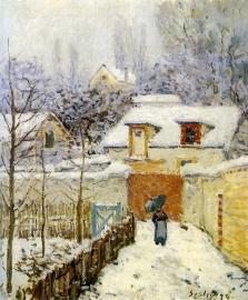 ルーヴシエンヌの庭雪の効果