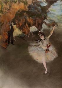 踊りの花形(エトワール、又は舞台の踊り子)