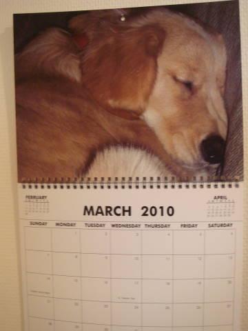 カレンダー3月?