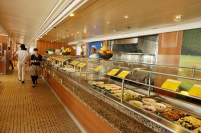 コスタビクトリアボレロ・セルフサービスレストラン