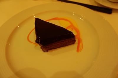 コスタビクトリアディナーチョコレートケーキ