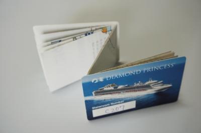 ダイヤモンドプリンセス船内地図のカード