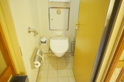 ダイヤモンドプリンセス公共のトイレ